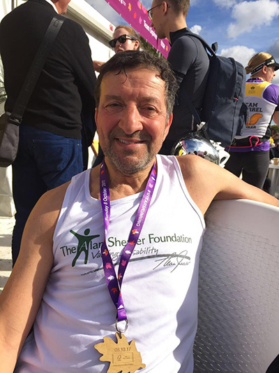 Foundation Supporter Runs to Raise Funds